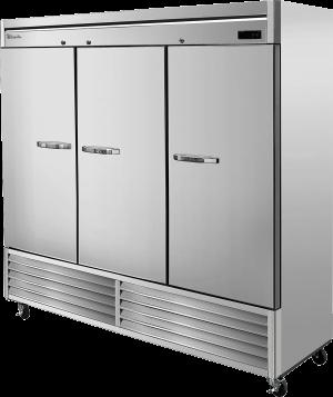 BLUE AIR BSF72-HC Stainless Steel 3 Door Freezer