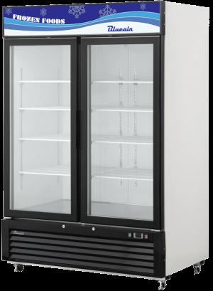 BLUE AIR BKGF49-HC 2 Glass Door Merchandiser Freezer