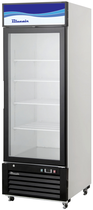 Blue Air BKGM12-HC Hinged Glass Single Door Cooler
