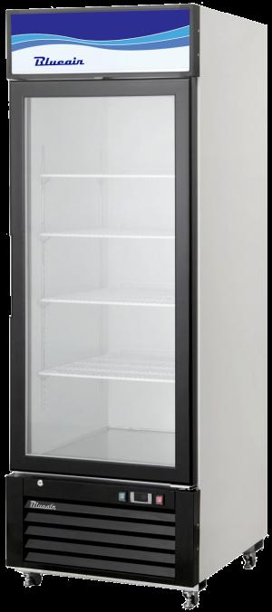 Blue Air BKGM12-HC Hinged Glass Single Door Cooler