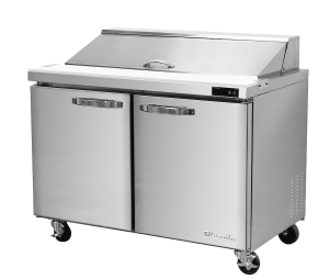 BLUE AIR BLPT36-HC 2 Door Sandwich Prep Table