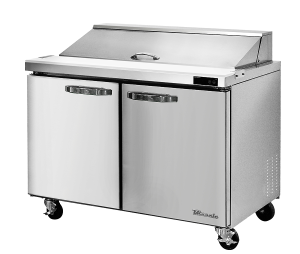 BLUE AIR BLPT48-HC 2 Door Sandwich Prep Table