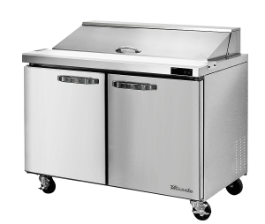 BLUE AIR BLPT60-HC 2 Door Sandwich Prep Table