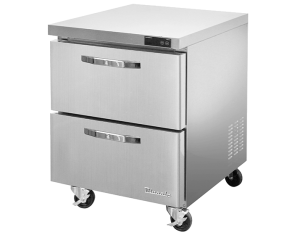BLUE AIR BLUR28-D2-HC Two Drawers Undercounter Refrigerator