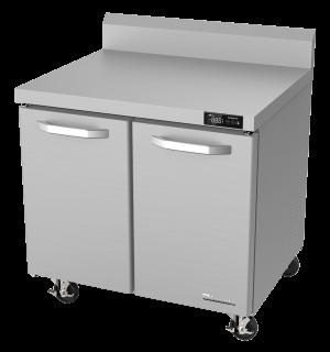 BLUE AIR BLUR36-WT-HC 2 Door 36″ Undercounter Worktop Refrigerator