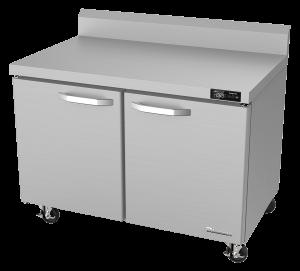 BLUE AIR BLUR48-WT-HC 2 Door 48″ Undercounter Worktop Refrigerator