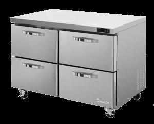 BLUE AIR BLUR60-D4-HC 4 Drawer Stainless Steel Undercounter Refrigerator