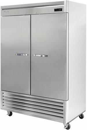 BLUE AIR BSF49-HC Stainless Steel 2 Door Freezer