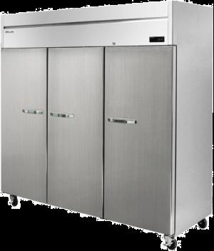 Blue Air BSF72T-HC Stainless 3 Door Freezer