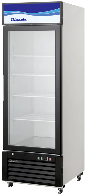 Blue Air BKGM23-HC Hinged Glass Single Door Cooler