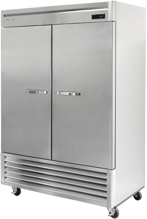 Blue Air BSR49-HC Hinged Stainless Steel Two Door Cooler