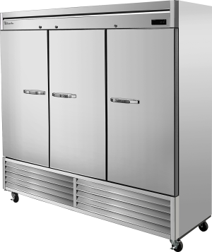 Blue Air BSR72-HC Hinged Stainless Steel Three Door Cooler