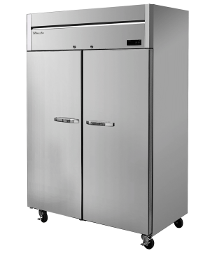 Blue Air BSR49T-HC Hinged Stainless Steel Double Door Cooler