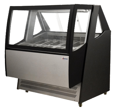 PRO-KOLD 56″ Wide Curved Glass Deli/Bakery Display Case
