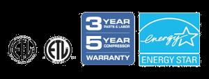 Warranty Energy Star Certification