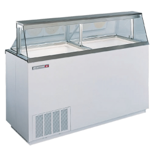 GLOBAL REFRIGERATION KDC67 16 Can Ice Cream Dipping Cabinet