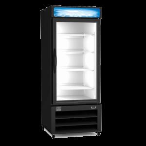 "KELVINATOR KCHGM26R 28"" Reach-In One Door Glass Refrigerator"