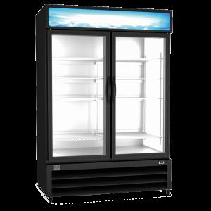 KELVINATOR KCHGM48F Double Glass Door Display Freezer