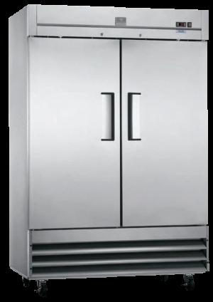 KELVINATOR KCHRI54R2DFE Stainless Double Door Freezer