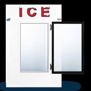LEER Indoor Ice Merchandiser Model 40