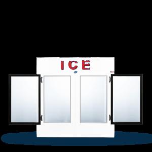 LEER Indoor Ice Merchandiser Model 60