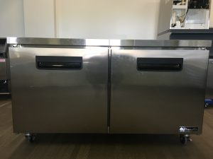 Used Blue Air BLUF60 Undercounter Stainless Steel Freezer
