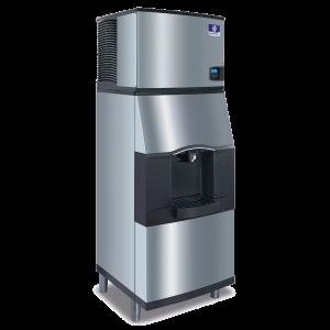 MANITOWOC IDT0300A/ SPA310 305lb Ice Machine w/ Ice Dispenser