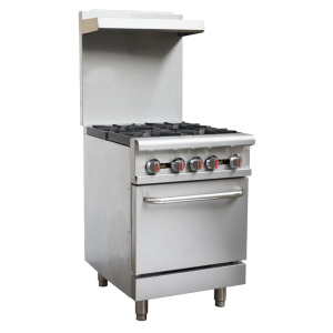 OMCAN CE-CN-0609-L, 24-inch Commercial Gas Range – Liquid Propane