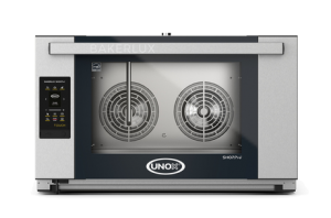 UNOX Bakerlux - XAFT-04FS-ETRV Digital Electric Convection Oven With Humidity