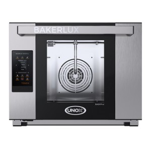 UNOX Bakerlux - XAFT-04HS-ETDV Half Size Countertop Digital Electric Convection Oven With Humidity