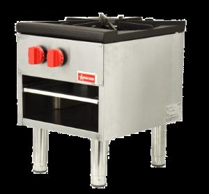 OMCAN CE-CN-0533-S - Gas Stock Pot Range - 100,000 BTU