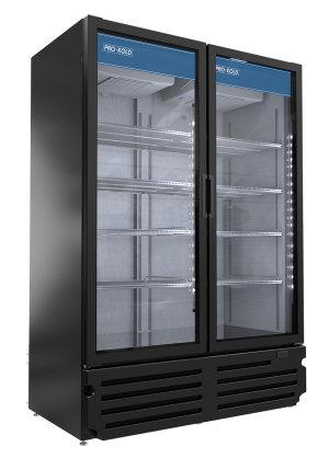 Pro-Kold VC49 Two Door Merchandiser