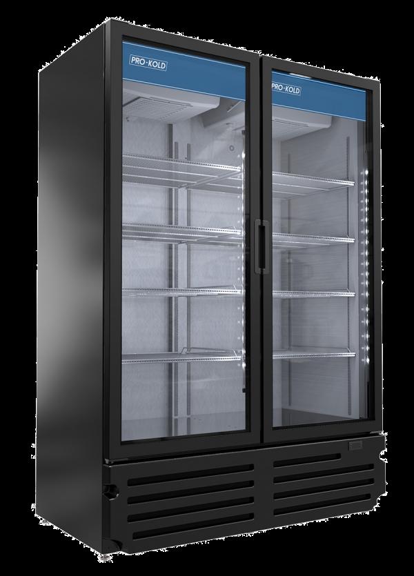 Pro-Kold VC49 Two Door Merchandiser